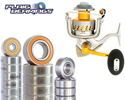 Hybrid Ceramic Ball Bearings Fits SHIMANO SUSTAIN SA-5000FG SPOOL ABEC-7 Bearing