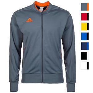 Bekleidung Adidas Fußball Condivo 18 Trainingsjacke Fußballjacke Herren blau Jacken