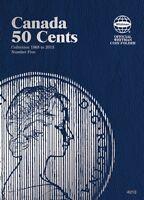 Canada 50 Cents No. 5, 1968-2013, Whitman Coin Folder