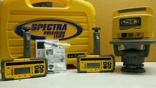 Trimble Spectra Precision Ll500 Level With 2 Hl700 Laserometers Detector