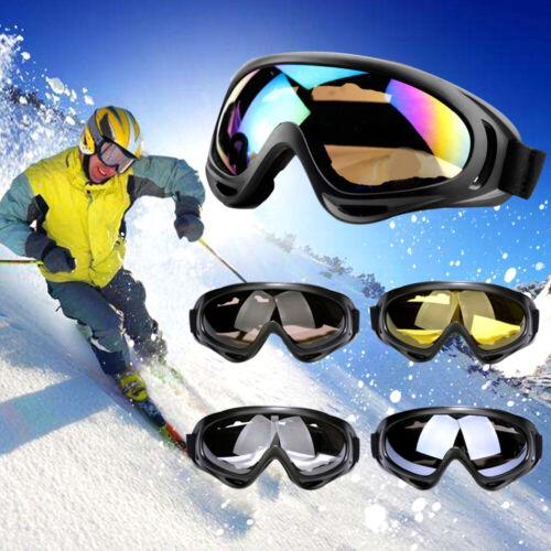 Sports Snowboard Ski Goggles Winter Windproof Eyewear Glasses Lens Frame