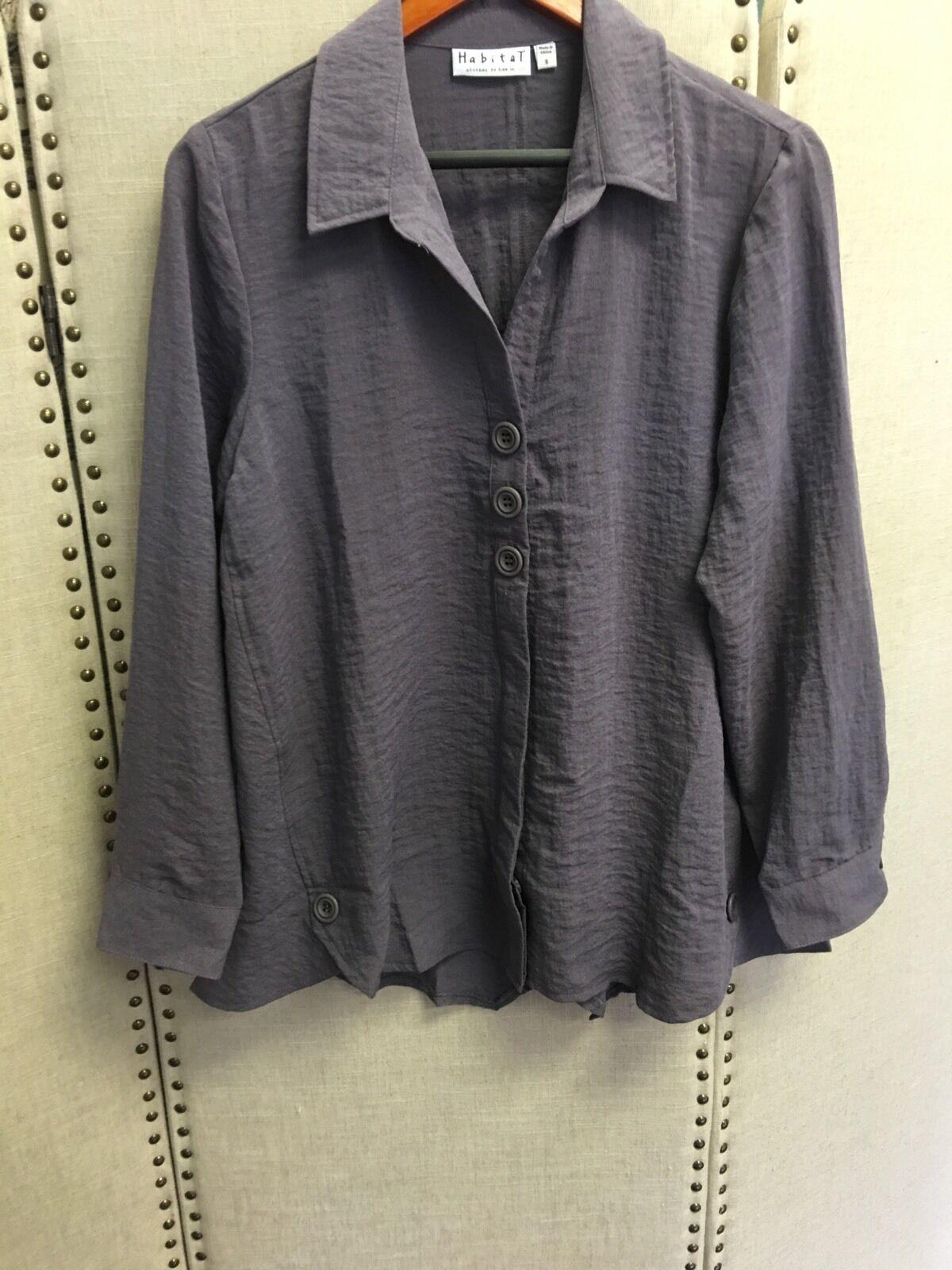 Habitat Cement shirt jacket.NWT .Größe S.
