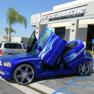 VDI-Dodge-Charger-2005-2010-Rear-Door-Bolt-On-Vertical-Lambo-Doors