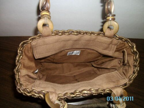 Rare Nuevo art Island Weaved Purse rqrtY