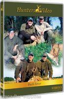 Buck Fever Hunters Video Hunting Dvd