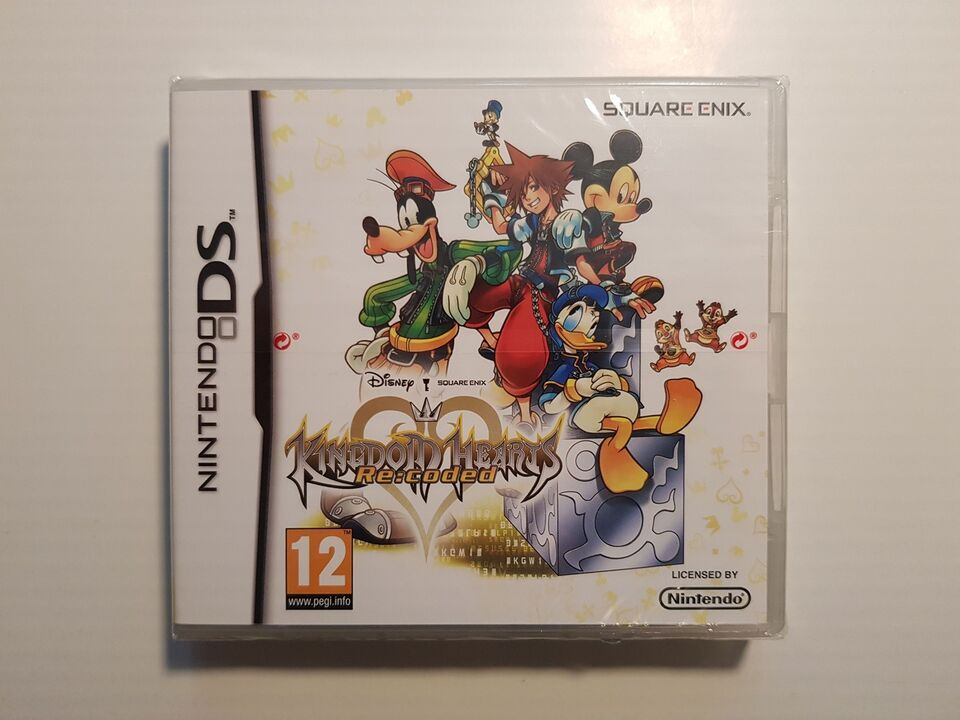 (Nyt i folie) Kingdom Hearts, Re: Coded, Nintendo DS