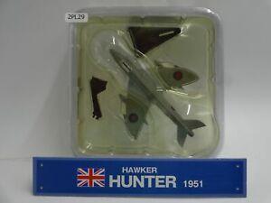 Del-prado-Hawker-Hunter-Diecast-Escala-1-120-aviones-de-guerra-pantalla-PL978