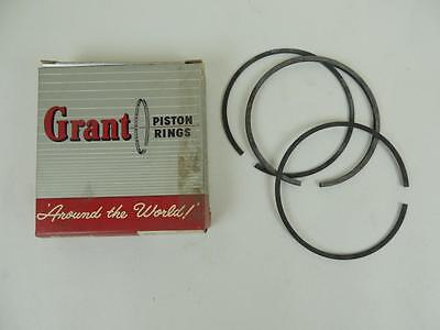 NOS Grant AJS Matchless 500 cc Single .010 Piston Rings W1436