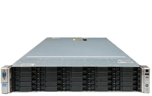 HP ProLiant DL380p G8 25x SFF HDD Bays DL380pG8