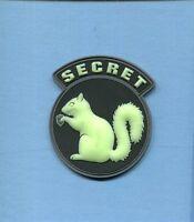 Top Secret Squirrel Us Army Us Navy Usmc Usaf Squadron Unit Jacket Patch