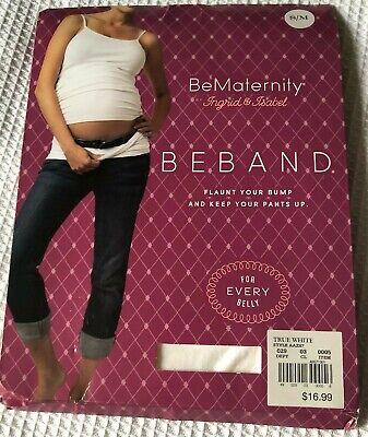 NEW BeMaternity Ingrid Isabel BeBand Natural S//M Maternity Belly Band Cover