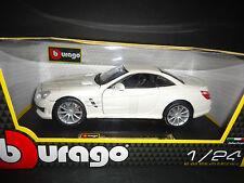Bburago Mercedes Benz SL65 AMG 2013 White 1/24