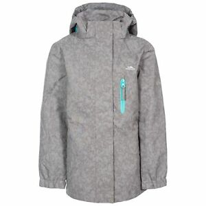 Trespass-Zoey-Girls-Waterproof-Reflective-Jacket-Rain-Coat-With-Hood