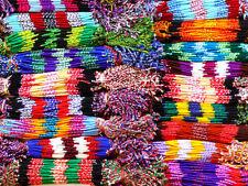 LOT DE 100 BRACELET BRESILIEN REVENDEUR Macramé GROSSISTE bijoux coton AMITIÉ