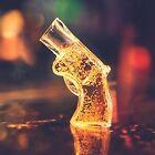 Revolver Shot - Glass Shaped 50ml Drinking Fun Drinks Novlety Whisky Vodka
