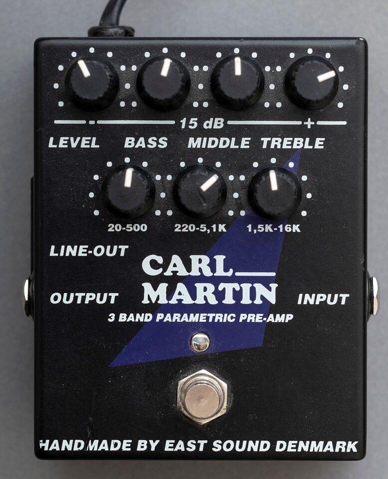 Pedal, Carl Martin 3 band parametric equalizer