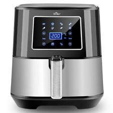 BEAR Alexa Freidora de Aire Caliente sin Aceite Pantalla LED Táctil 5,5 L 1700W