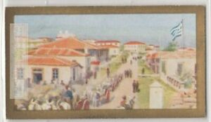 Lemnos-Island-Greece-Mudros-Bay-Agean-Sea-90-Y-O-Ad-Trade-Card