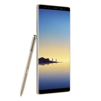 Samsung Galaxy Note8 (Note 8) N950FD Dual LTE 6G+64GB Maple Gold Ship from EU