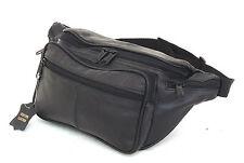 Large Fanny Pack Genuine Leather Waist Travel Bag Adjustable Organizer Belt XL