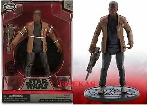 Star-Wars-Force-Awakens-Disney-Store-Finn-with-Blaster-Elite-Series-Die-Cast-NEW