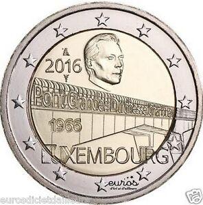 2-euros-Luxembourg-2016-50-ans-du-Pont-de-la-Grande-Duchesse-Charlotte-UNC