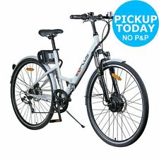 5be74d211b0 E-Plus 26 Inch Front Suspension 7 Gear Electric Folding Hybrid Bike - White