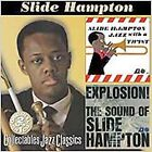 Jazz with a Twist/Explosion! The Sound of Slide Hampton by Slide Hampton (CD, Mar-2006, 2 Discs, Collectables)