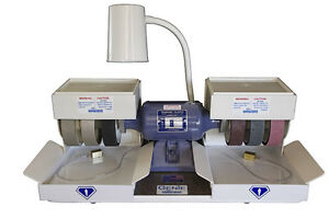 rle-DIAMOND-PACIFIC-GENIE-6-034-POLISHER-GRINDER-LAPIDARY-BRAND-NEW-THE-BEST