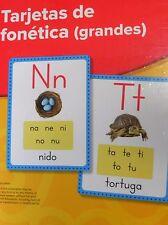 Lectura Maravillas Sound Spelling Large Cards Grade K, 1, 2 Tarjetas de fonetica