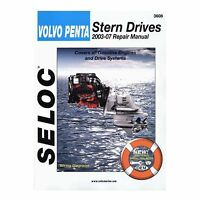 Seloc Service Manual, Volvo Penta Stern Drive 2003-2007 3608 on sale