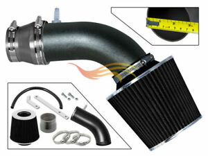 BCP-RW-GREY-For-11-15-Accent-Veloster-Elantra-Rio-1-6L-NA-Air-Intake-Kit-Filter