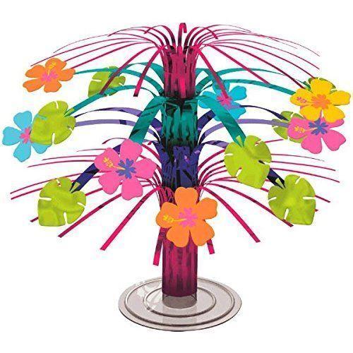 Hawaiian Party Tropical Island Luau Palm Tree Decorations Confetti