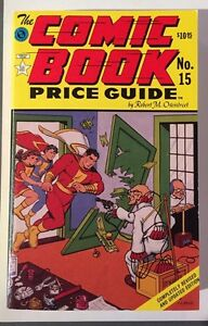 1985-86 OVERSTREET COMIC BOOK PRICE GUIDE-No 15- REVISED C.C BECK COVER SHAZAM!