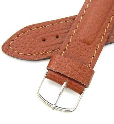 Wristwatch Bands Dutiful Vostok Komandirskie Brown Pear Genuine Leather Vintage Military Watch Band 18mm