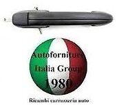 MANIGLIA PORTA POSTERIORE SX EST NERA FIAT MAREA 96/>03 5P 1996/>2003