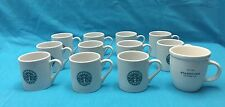 Lot of 12 Starbucks Coffee Mini Mugs