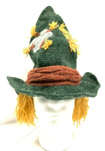 Wizard of Oz Scarecrow Genuine Peruvian Hand knitted Winter Warmer Hats