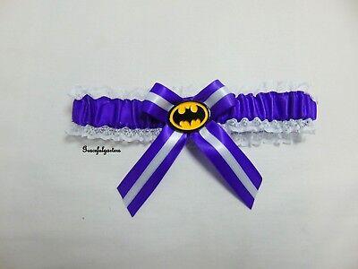 Batman Sposa Giarrettiera. Qualsiasi Colore Raso-mostra Il Titolo Originale