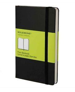 Moleskine-9X14-cm-Hardcover-Notizbuch-192-Seiten-schwarz-blanko
