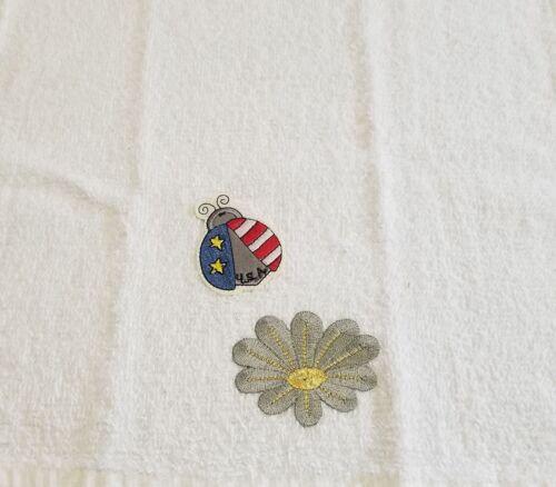 1 New Kitchen Crochet Top Towel #T501 #T510 Patriotic
