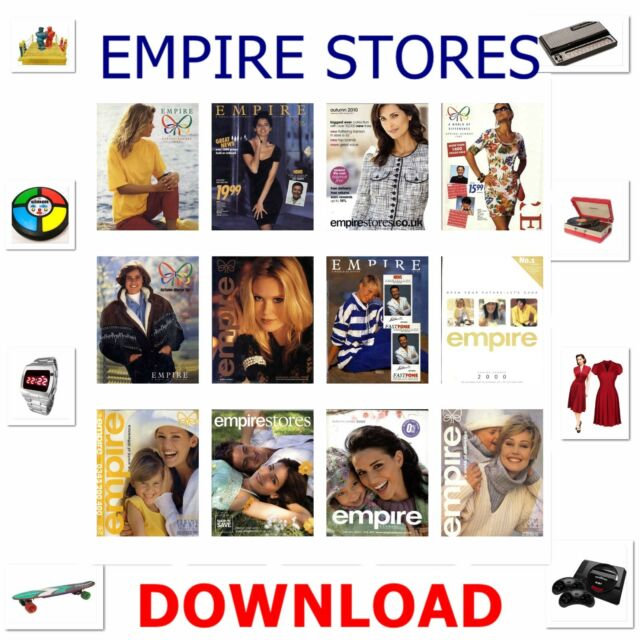 1990s 2000s EMPIRE STORES MAIL-ORDER CATALOGUE DOWNLOAD ANTIQUE HOME