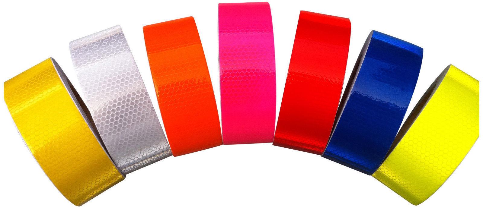 New High Intensity Reflective Tape Vinyl 25mm, 50mm, 100mm, 150mm widths