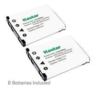2x Kastar Battery For Fujifilm Np-45 Finepix Z70 Z71 Z80 Z81 Z90 Z91 Z100fd Z110