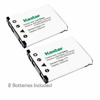 2x Kastar Battery For Fujifilm Np-45 Finepix J210 J250 Jv100 Jv105 Jv150 Jv155