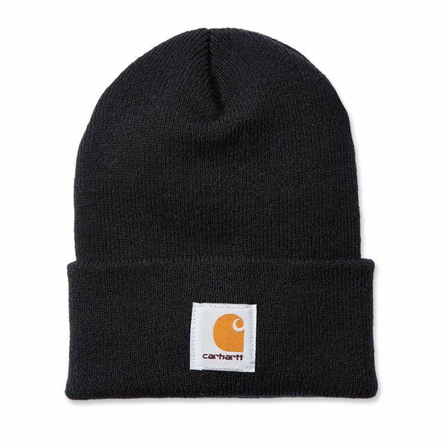 3486fe3969ee3 Carhartt Men s Acrylic Watch Hat A18 Black One Size for sale online ...