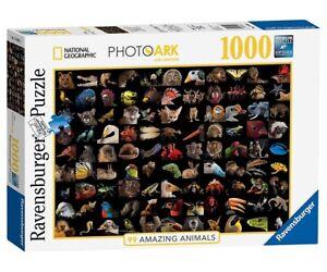 99 ATEMBERAUBENDE TIERE - STUNNING ANIMALS Ravensburger Puzzle 19371 - 1000 Pcs.
