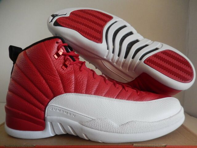 2016 Nike Air Jordan 12 Retro XII Alternate Gym Red 130690-600 Sz 15 ... 4e3000a9a