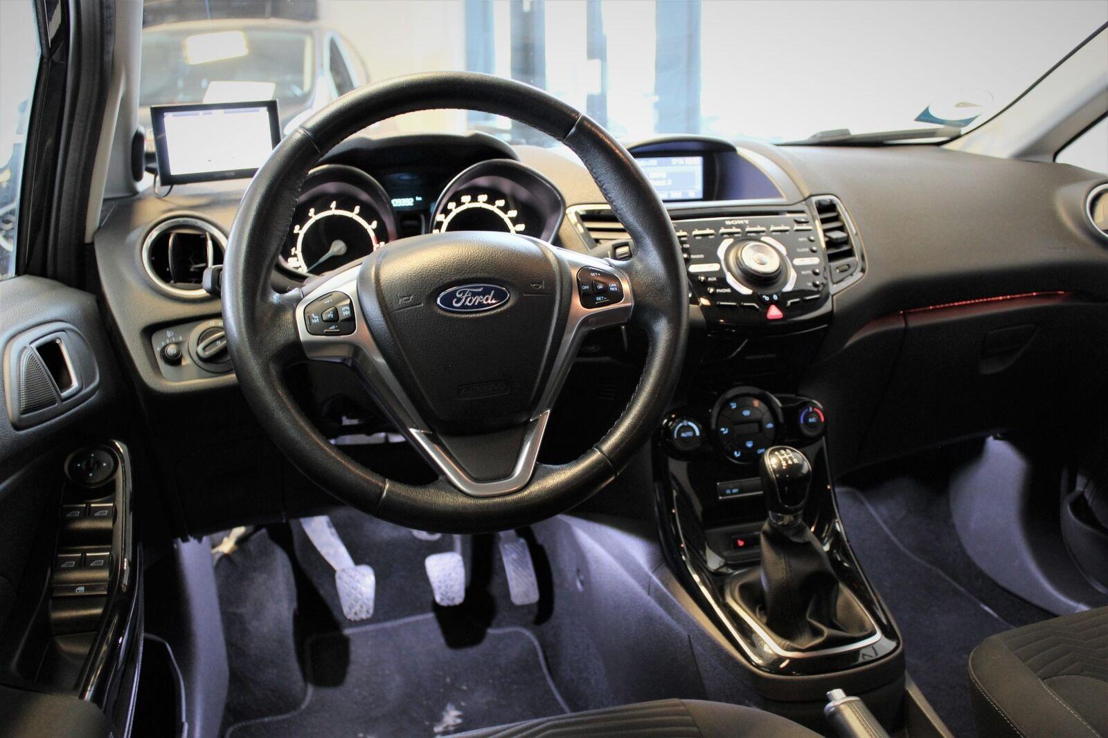 Ford Fiesta 1,0 EcoBoost Titanium X - billede 8