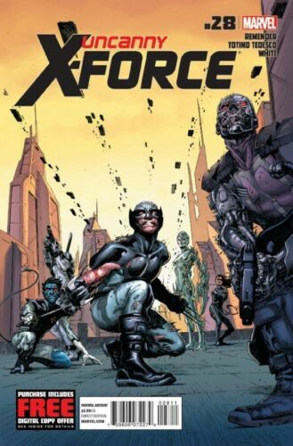 FIRST 1st PRINT UNCANNY X-FORCE ISSUE 28 RICK REMENDER MARVEL COMICS